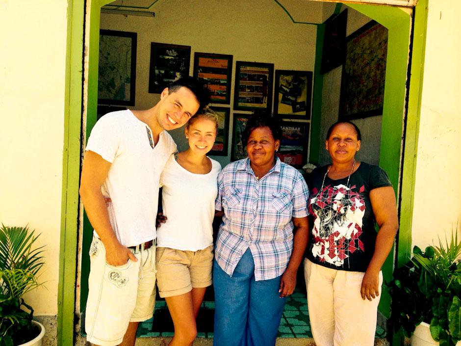 Die Vier vom Tourismusbüro