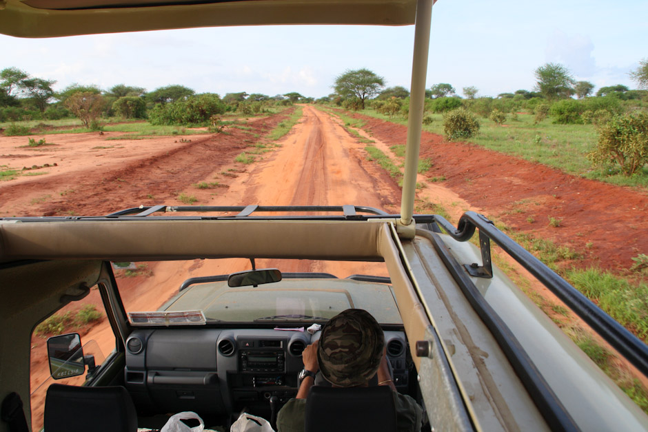 Toyota Landcruiser, Safari im Tsavo East