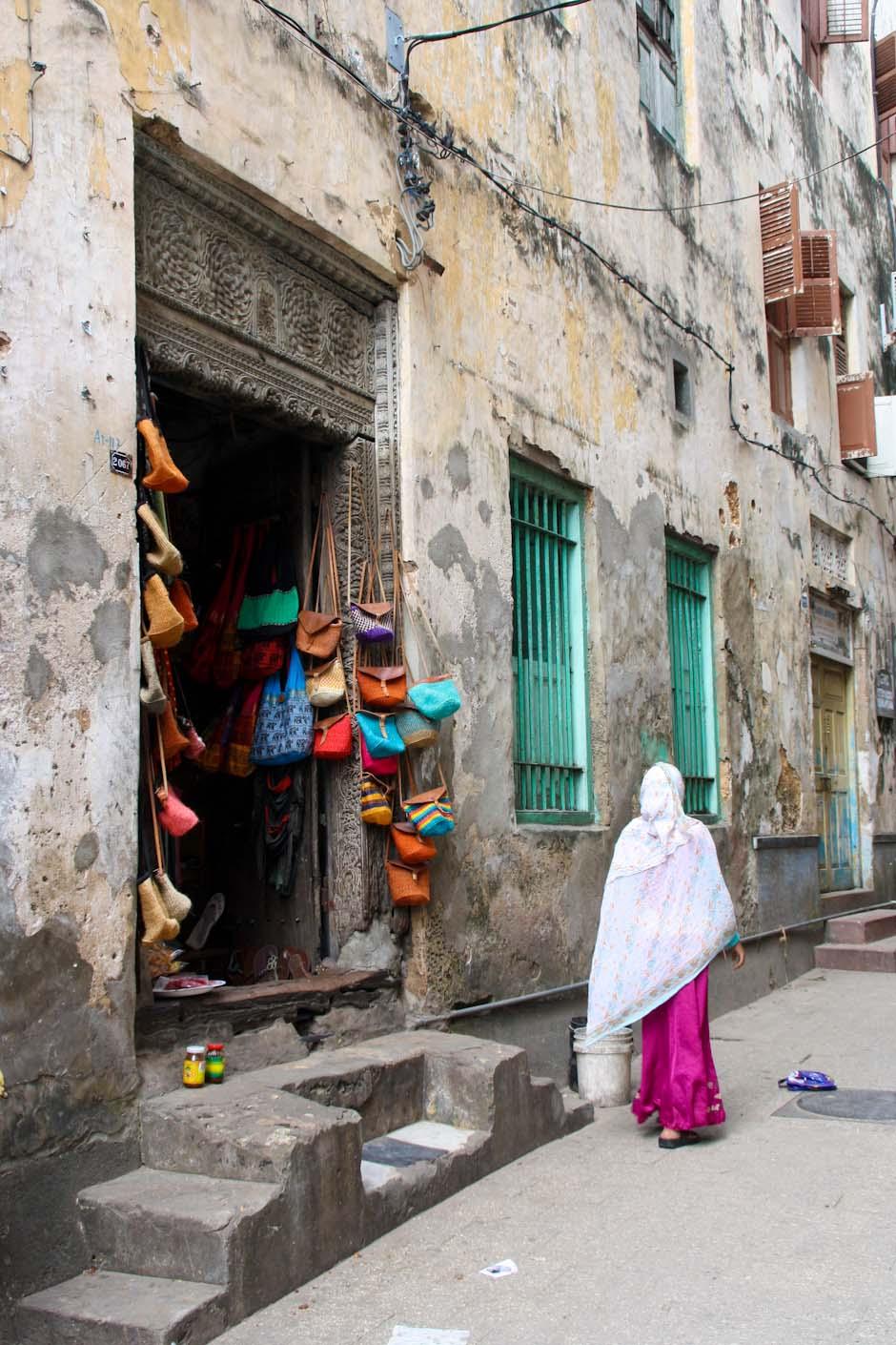 In den Gassen von Sansibar-Stadt