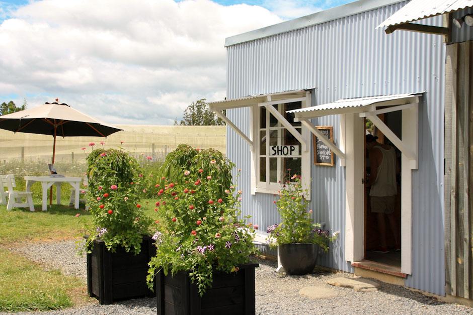 Shop und Garten, Blue Hill Orchard