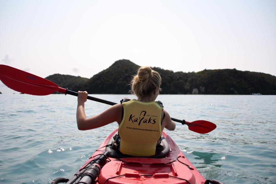 Kayaking im Abel Tasman National Park