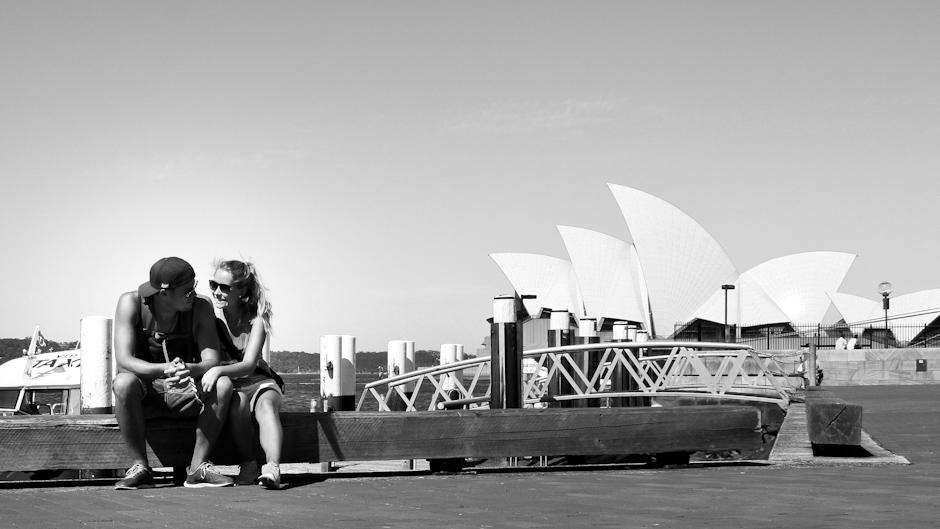 Am Circular Quay, Sydney