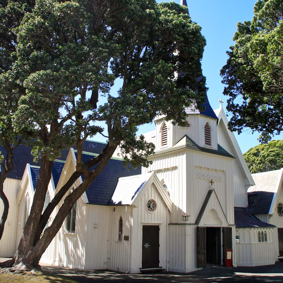 Old Saint Paul's Cathedral, Wellington