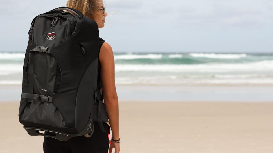 Kofferrucksack Sojurn von Osprey, Packen für den nächsten Urlaub im praktischen Backpack