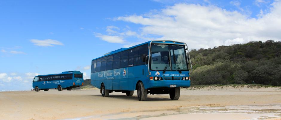 Tourbus der Fraser Explorer Tours, Fraser Island