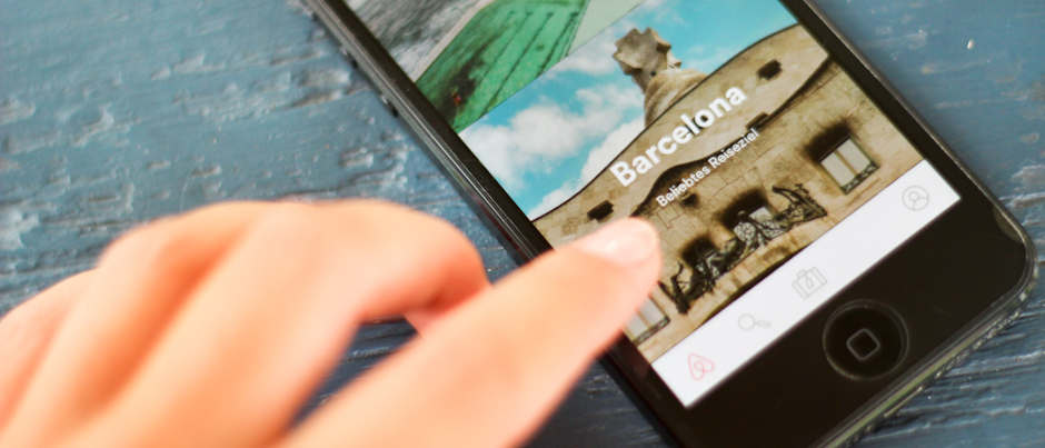 Die Smartphone-App von airbnb, die besten Reise-Apps für unterwegs, Reisetipps