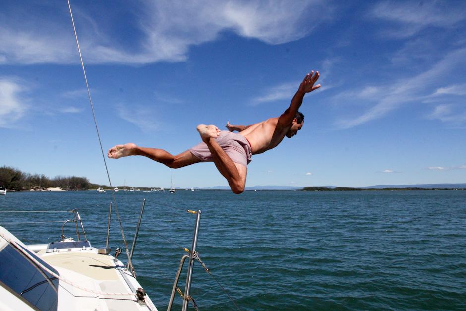 Segeltrip nach Stradbroke Island auf der Bella Donna