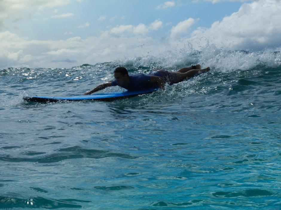 Surfing, Byron Bay