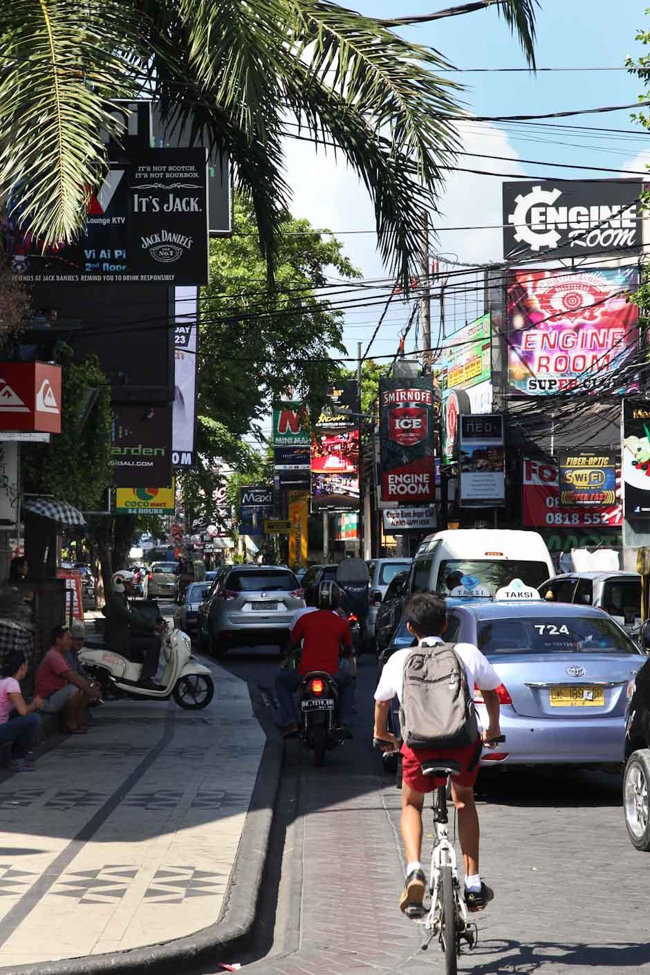 Der Kuta Square in Kuta, Bali