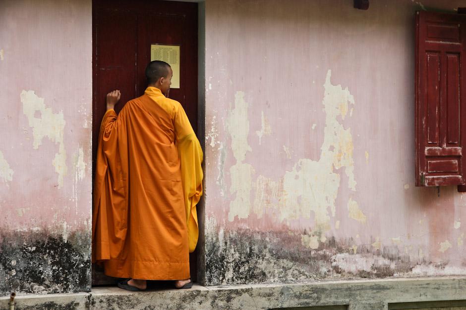 Mönch in Hue, Vietnam