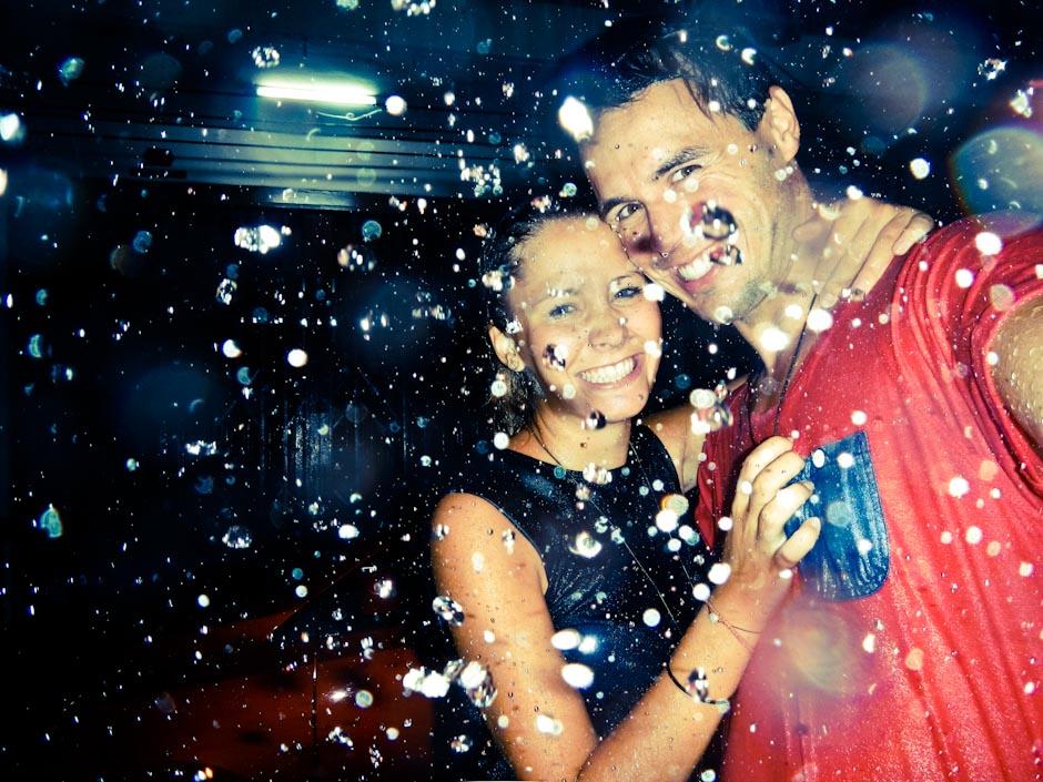Tanzen im Regen, Bangkok