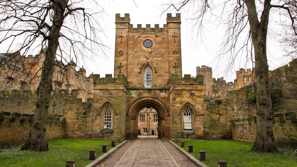 Durham Castle, Haupttor