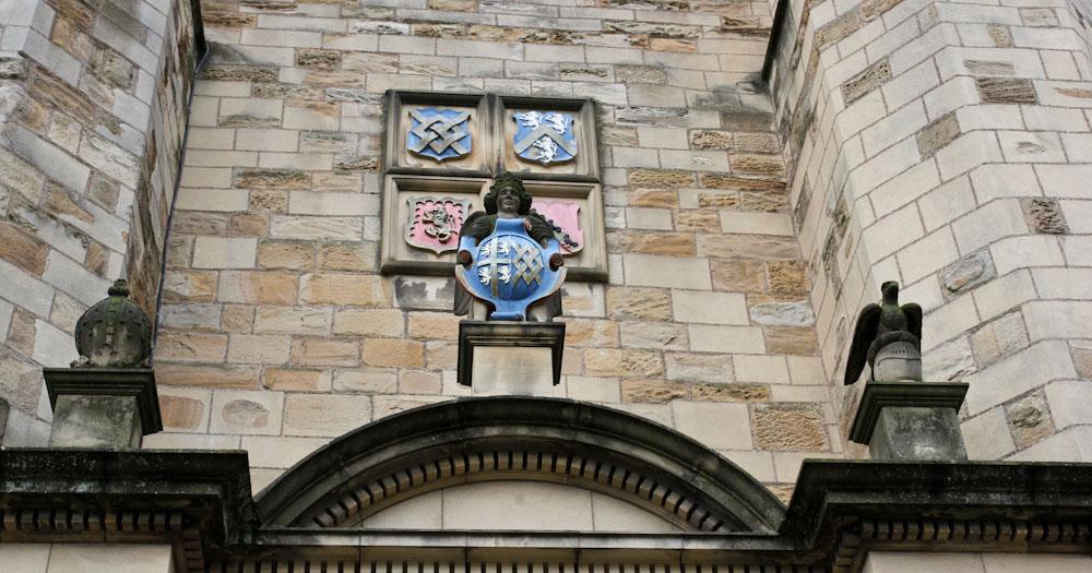 Innenhof im Durham Castle