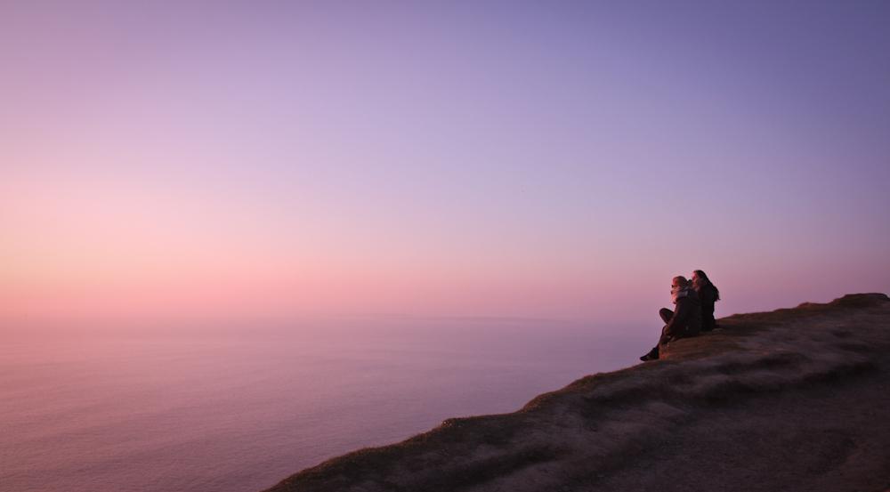 Sonnenuntergang an den Cliffs of Moher
