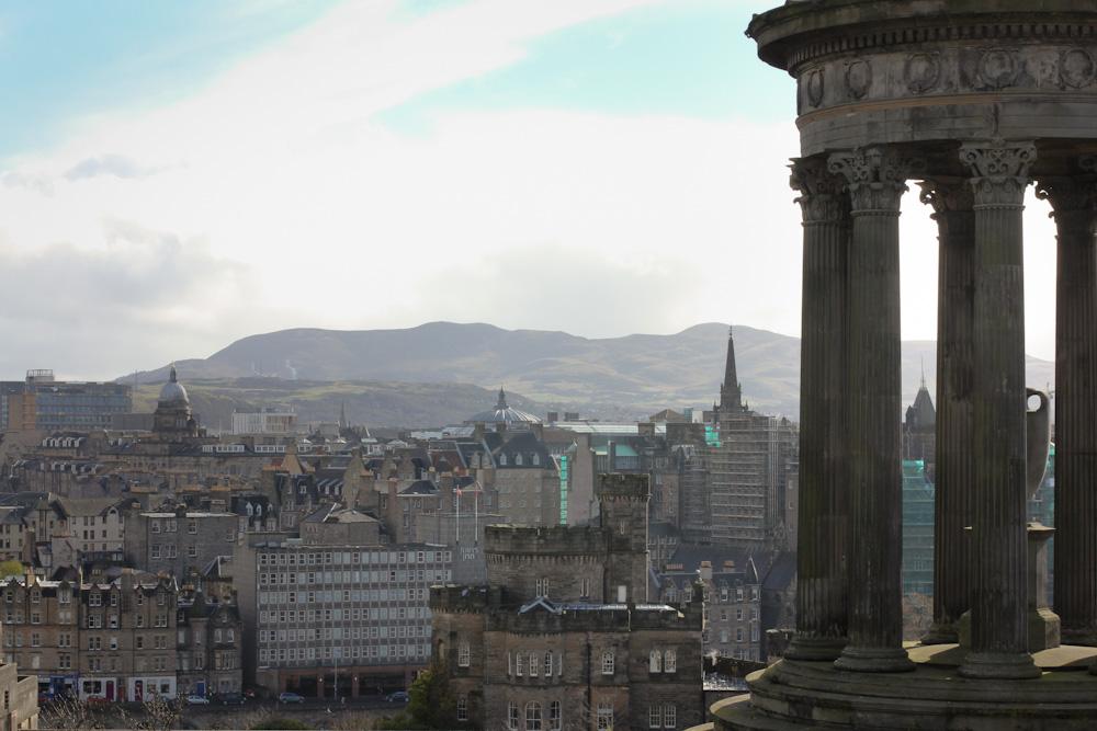 Edinburgh von oben, Calton Hill, Edinburgh