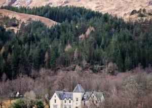 Tal von Glennfinnan, Highlands, Schottland