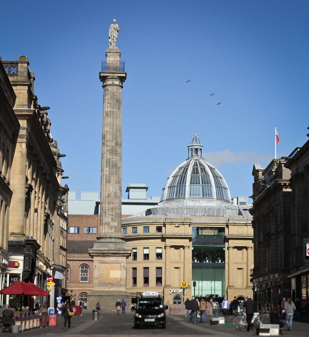 Grey's Monument, Grey Street, Newcastle upon Tyne