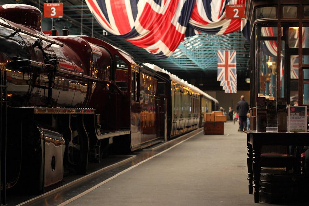 Nationales Eisenbahnmuseum, York