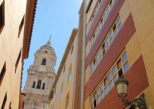 In den Gassen von Malaga, Andalusien, Spanien