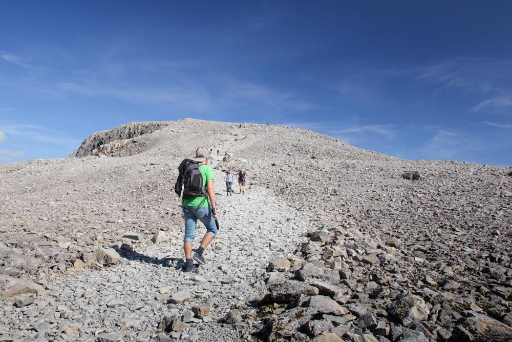 Besteigung des Ben Nevis, Schottland