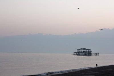 Old Pier, Brighton, England