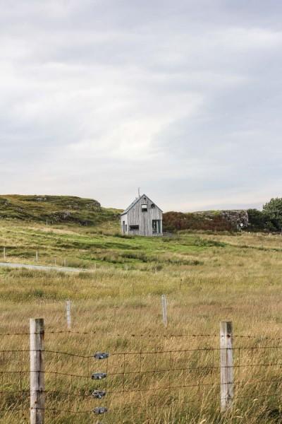 Haus auf Isle of Skye, Schottland