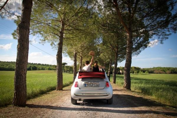 Cabrio-Tour durch die Toskana, Italien